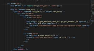 Вывести произвольный тип записи в шаблон WordPress